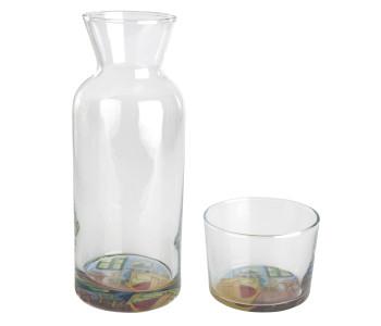 Design glazen karaf en glas Vincent van Gogh Museum Amsterdam