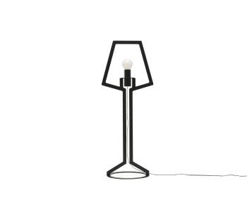 Gispen Outline tafellamp large van zwart staal door Peter van de Water