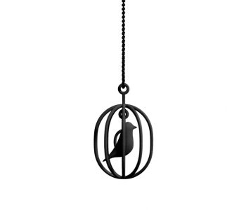 Soonsalon Happy Bird ketting zwart