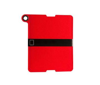 Rowold rood vilten hoes voor iPad 2, iPad 3 of iPad 4