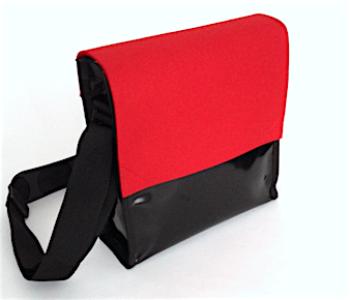 Schoudertas LH58 Remo in de kleur rood