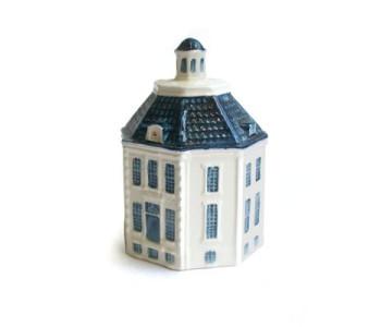Kasteel Drakenstein Delfts blauw miniatuur van Royal Goedewaagen