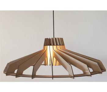 Houten design hanglamp Tesla van Tjalle en Jasper