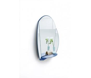 Split Mirror wandspiegel van Ontwerpduo  wit