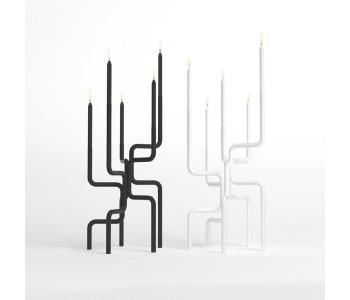 Kandelaar design Frederik Roijé Walk of Flame