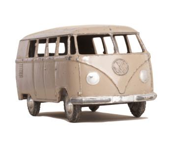 Muursticker Wanted Wheels Volkswagen busje