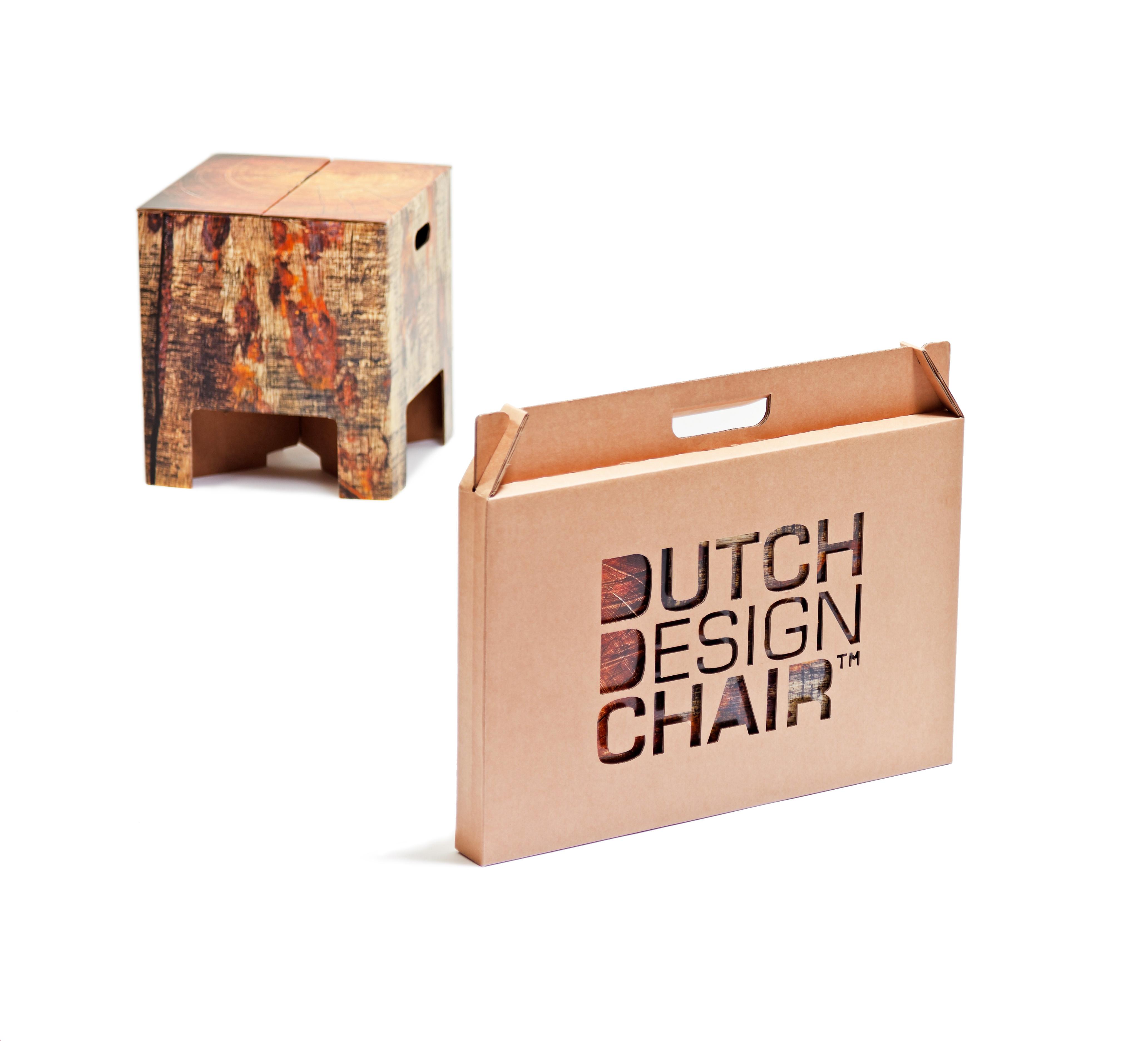 Dutch design krukje boomstam bij - Wereld kruk ...