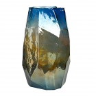 Pols Potten Vaas Graphic Luster L 40cm gekleurd glas