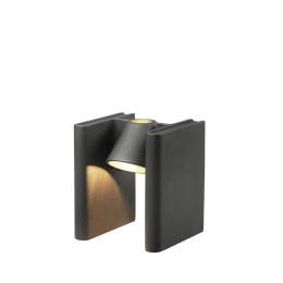Tafellamp en boekenstandaard Vos