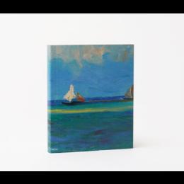 Notitieboekje A5 met een print van het meesterwerk Zeegezicht van Van Gogh