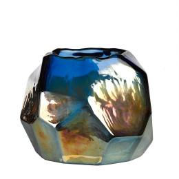 Pols Potten waxinelichthouder Graphic Luster gekleurd glas, mooi cadeau