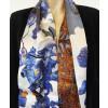 Sjaal voor vrouwen van 100% zijde met afbeelding van een Van Gogh schilderij