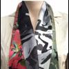 Zijden sjaal Colour of your Heart met print van Jheronimus Bosch