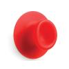 Droog design zuignap haakjes Sucker in de kleur rood