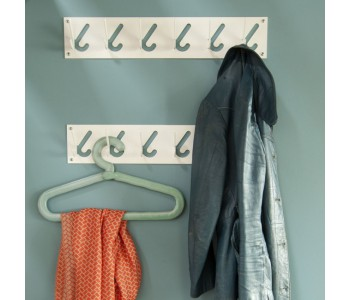 Dick van Hoff for Gispen hat rack with 6 hooks