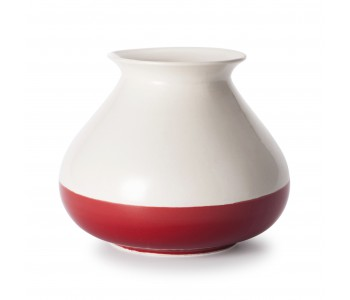 Small Vietnamese vase S Piet Hein Eek fair trade red