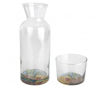 Designer glass carafe Vincent van Gogh Museum Amsterdam