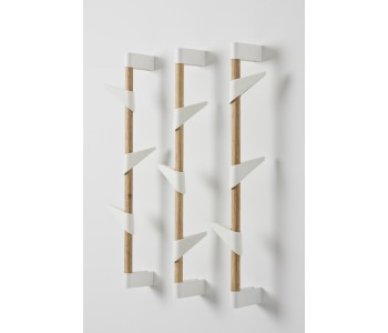 Designer wall coat rack Bamboo Wall 3