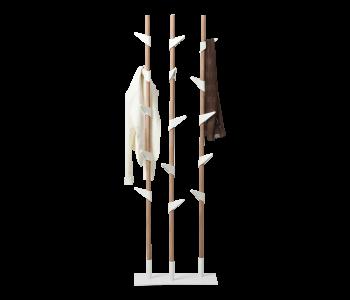 Designer coat rack Bamboo 3 stands