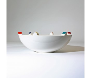 Huiswerk Bebouwde Bowl, ceramic bowls and vases