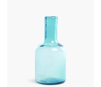Cantel Carafe 25 by Imperfect Design in color aqua