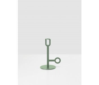 Green Carry On Candle holder by Peter van de Water
