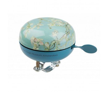 Large Dutch designer bicycle bell Van Gogh Almond Blossom print
