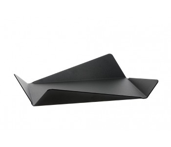 Gispen Contour table bowl from black steel by Robert Bronwasser