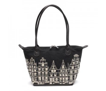 Holland design, accessories, Rijksmuseum bag masterpieces, Handbag Canal Houses 17th century