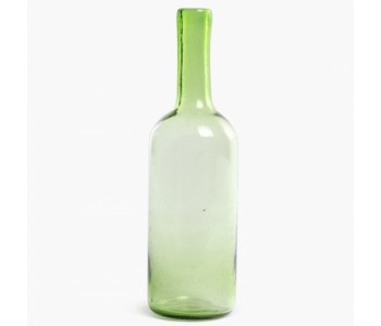 Cantel Carafe Vasa 35 cm in green glass