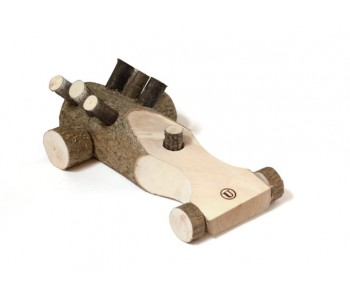 Children's toys Happy Car Usual wood