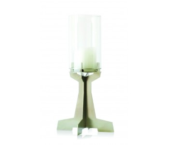 Castle Candle Holder candle by Maandag Meubels stainless steel