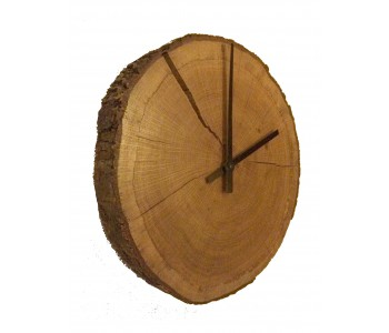 Clock, wall clock, wood wall clock from Studio Jasper, french oak