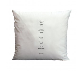 Plint Poetry pillowcase You are so from Hans Andreus