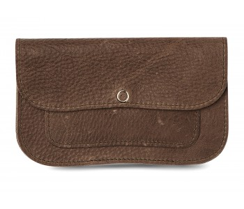 Cat Chase Wallet Medium from Keecie in grey brown