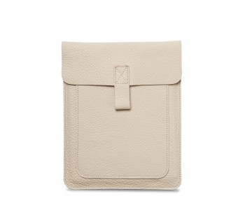 Couch Potato iPad Sleeve by Keecie in the color cement