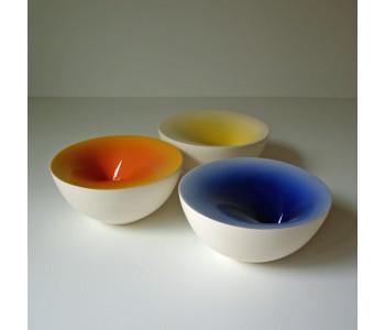Puntkom, ceramic bowls, Olav Slingerland