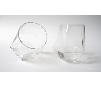Radiant crystal glass; design by Puik Art from Amsterdam
