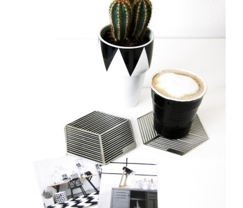 Set your table with these Seco designer coasters