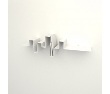 Book case white Metal Studio Frederik Roijé Storylines Dutch design