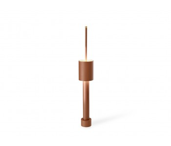 Table lamp office design Frederik Roijé Table Tower brown