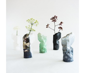 Paper Vases Cover in gradient grey from Studio Pepe Heykoop