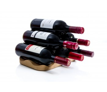 Bottle Island Wine Rack by Officeoriginaire for Royal VKB