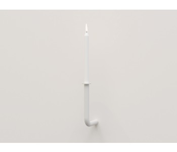 Candlestick design Frederik Roijé Walk of Flame white large