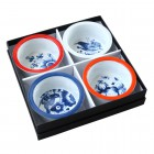 Bowls Dutch Blue - Set of 4