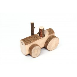 Children's toy Happy Tractor Usual wood