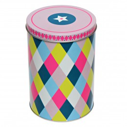Holland design, homeware, Kitchen, Kitsch Kitchen storage tin circus