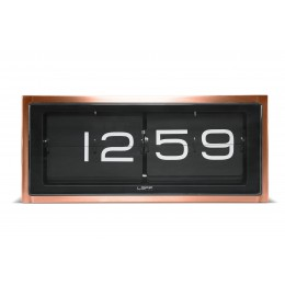 LEFF Amsterdam Brick Clock Copper