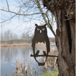 Metal bird Owl by Metalbird: a nice garden decoration gift