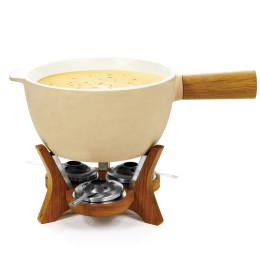 cheese fondue, chocolate fondue